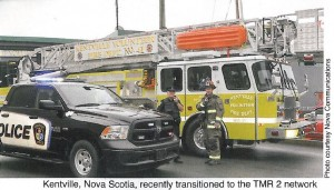 Kentville Police & Fire - TMR2 Users