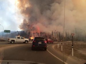 Peter Family Leaving Fort McMurray