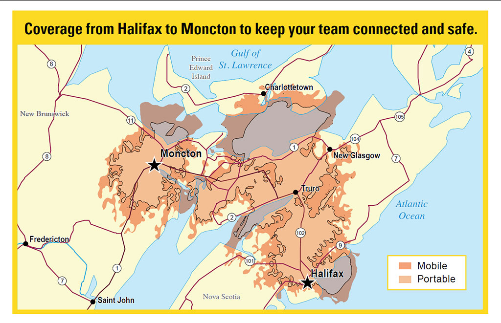 New Radio Network Covers from Moncton to Halifax - Nova